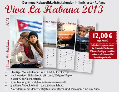 Kuba-Kalender 2013